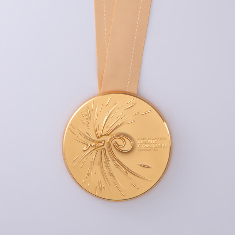 Goldmedaille Turner WM Stuttgart2019