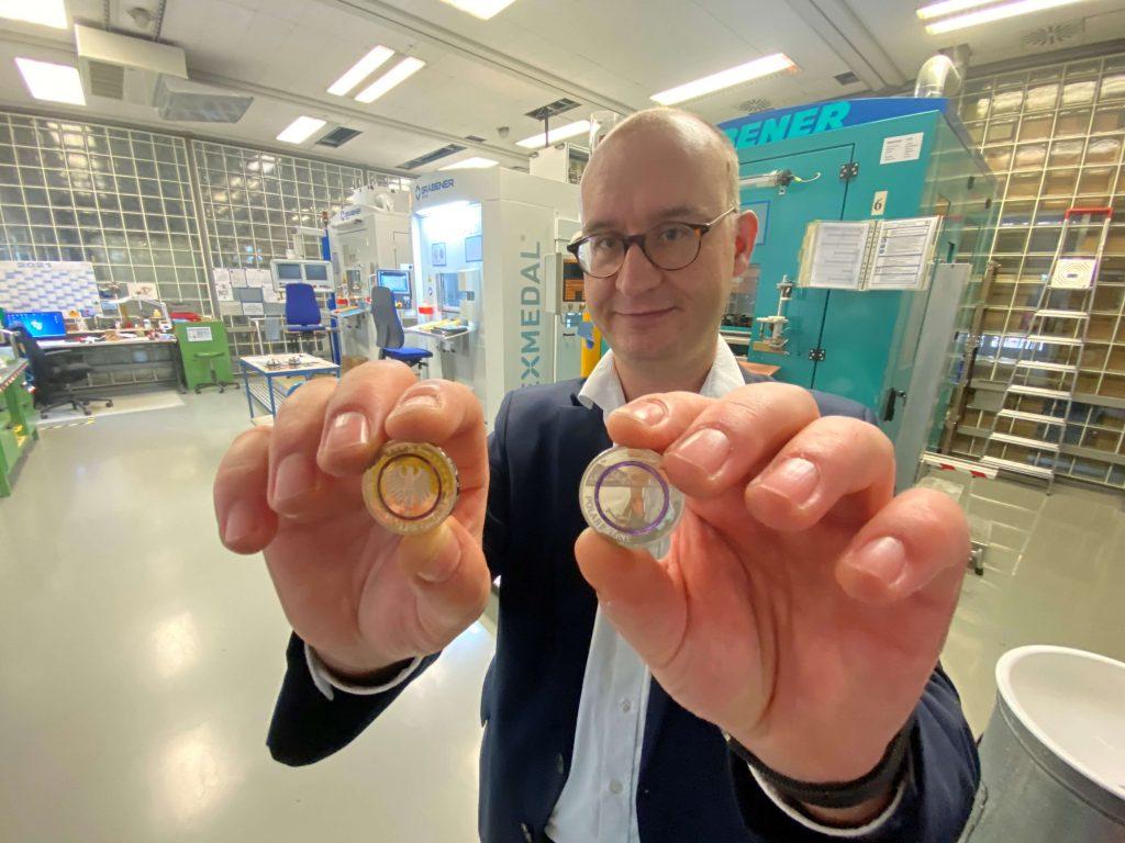 """5 Euro Polymermünze """"Polare Zone"""""""